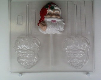 Large classic Santa lolly C006