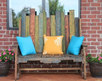 Decorative Pallet Style Bench