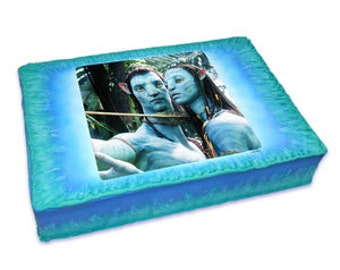 AVATAR Edible Image Cake Topper Birthday Party Supplies