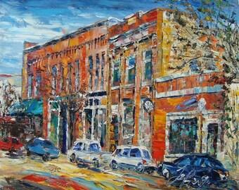 Main Street, Rockford MI-Pen King -6897