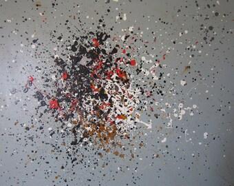 BURBUJAS - Abstract Modern Art
