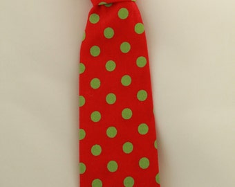 Custom-made Infant's and Child's Cotton Neck Tie