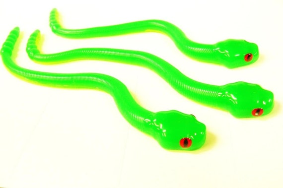 Bogbaits rattle snakes neon colors realistic bass pike bait for Snake fishing lure