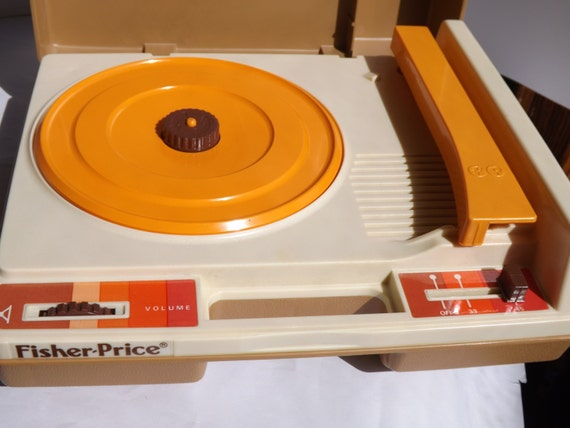 1978 Fisher Price Childrens Record Player