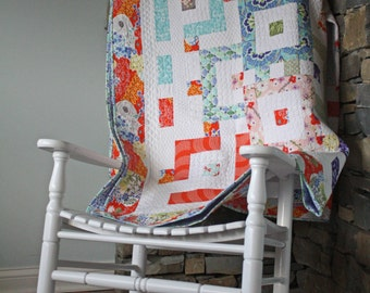 Good Fortune Throw Quilt