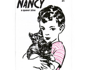 NANCY - a queer zine about effeminacy in gay boys