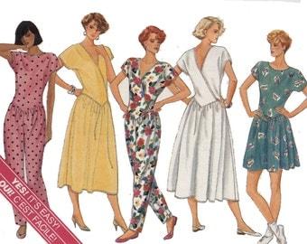 Butterick  Pattern 3699  Misses'  Dress and Jumpsuit Sizes 12,14,16
