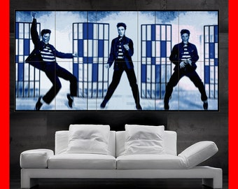Elvis Presley THE King jailhouse rock Colorful  Poster print art  HH10503 S38