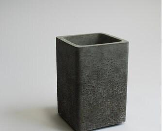 beautiful concrete vase in unique concrete color shades, every piece handmade and  unique