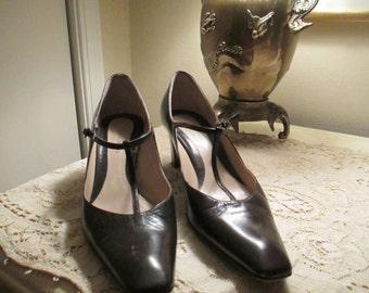 Giorgio Armani T-Strap heels