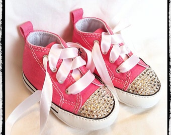 Bling Converse Crib Shoe