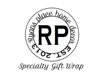 Ryan's Place Specialty Gift wrap listing