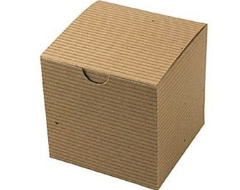 "Clearance: 20 Kraft Gift Boxes 4 x 4 x 4""  Eco Friendly Wedding Favor Boxes, Rustic Favor Box"