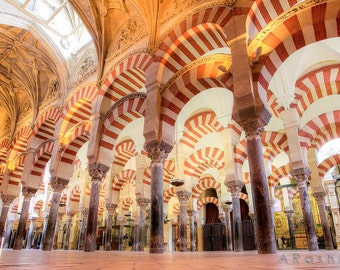 Mosque of the Caliphs (La Mezquita) in Cordoba, Spain Photography Print