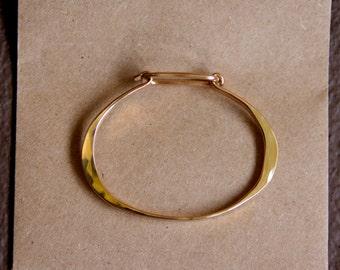 Gold Filled Clasp Bracelet