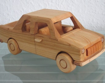 Tarpan Pick Up Minibus FSO poland east german wood car model car very rare handmade