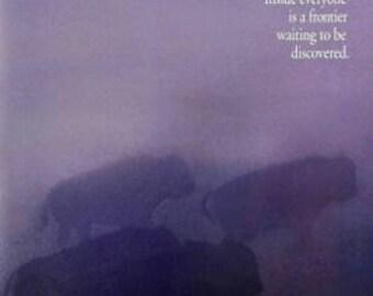 27 X 40 Vintage Movie Poster - 'Dances With Wolves' (Advance) - Kevin Costner, Graeme Greene
