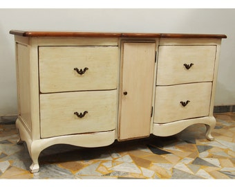 Shaped old looking Sideboard