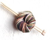 Super bulky knitting yarn - giant thread - for min.  size 10 needles - fall forest