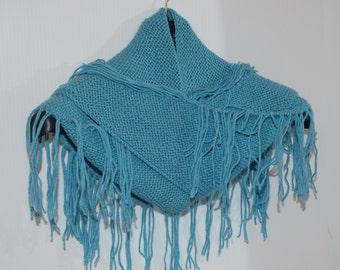 AC0003 - Triangle Scarf, 100% Baby Alpaca, handmade,