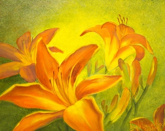 Old Fashioned Tiger Lilies