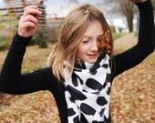 100% silk scarf, 36/36 inches