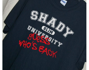 Eminem Fans...SHADY UNIVERSITY Guess Who's Back T Shirt