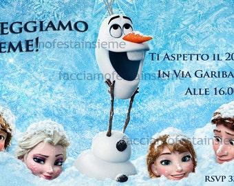 Frozenb - Birthday invitation
