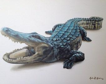 Original Florida Gator painting