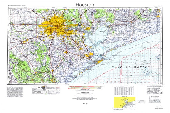 Houston Map Map Of Houston Texas Map Houston Texas Topo - Topographical map of texas