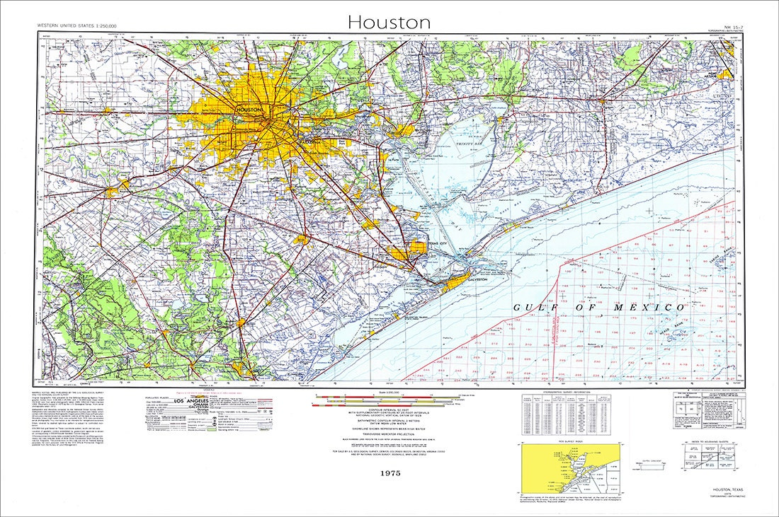 Houston Map Map Of Houston Texas Map Houston Texas Topo - Full map of texas