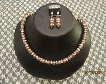 Necklace, Earrings 2 pcs. Set