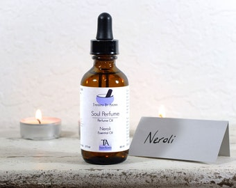 Neroli Perfume Oil - essential oil - Natural fragrance - Soul Perfume