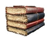 6x4 Artist's sketchbook Pure Genuine Leather Bound/binding Blank Diary/Journal