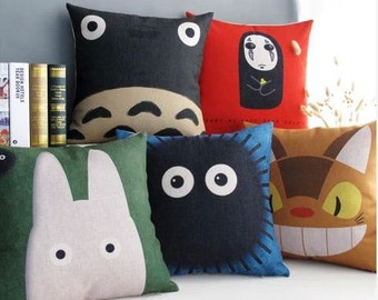 Japanese cartoon collection Totoro pillow cases