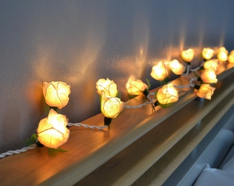 flower string lights for bedroom white flower string lights for bedroom and wedding 18698