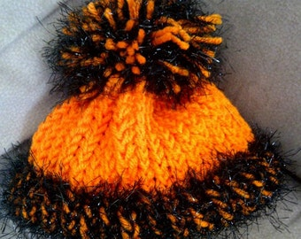 Loom Knitted Baby Hat