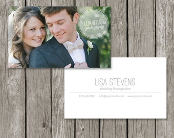 Photography Business Card Template - Simple Photo Business Card Design (Printable) - BC05
