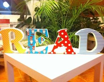Wall Letter 3d . Wedding letter. 100% Handmade. Read.
