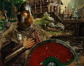 Beowulf, Viking Warrior Fine Art Print
