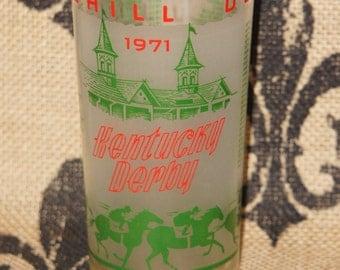 1971 Kentucky Derby Glass