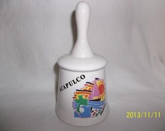 Acapulco Ceramic Bell
