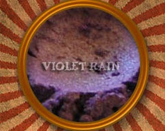 Violet Rain Mineral Eye Shadow - Handmade in the USA