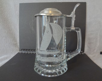 ALWE glass stein