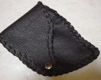 little Pocket, Hip-belt-pocket,real Leather,extravagantly,Unisex