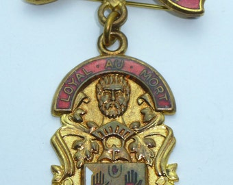 Masonic Stewards Jewel -  Royal masonic Benevolent Institution RMBI 1968