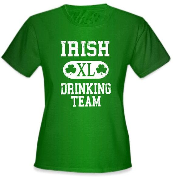 Irish Drinking Toast St Patrick S Day Shirt By: St. Patrick's Day Irish Drinking Team Girl's TShirt By