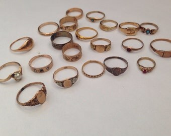 Victorian Baby Rings