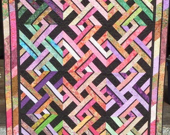 X Marks the Spot Quilt- Shipping Included