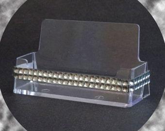 Diamond Bling Business Card Holder